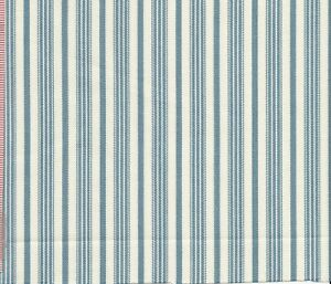 Classic Ticking Fabric by Ralph Lauren Fitch House Ticking CL Chambray