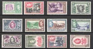 BRITISH HONDURAS 1938-1947 KGV SET TO $5 (LHM/MNH) $5 MNH!