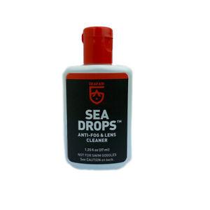 GearAid Sea Drops Anti-Fog Defog Defogger Scuba Dive Snorkel Mask Lens Cleaner
