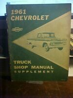 1961 Chevrolet Truck Shop Manual Supplement  (1M)