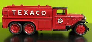 "ERTL 1930 Texaco 2 1/2 Ton Diamond ""T"" Fuel Tanker Locking Coin Bank Diecast"