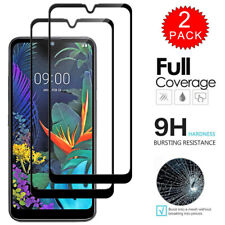 2x For LG K50 - Full Coverage Tempered Glass Film Screen Protector [2-Pack]