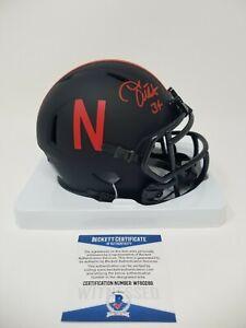 Trev Alberts Nebraska Cornhuskers Signed Autographed Eclipse Mini Helmet Beckett