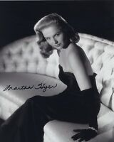 MARTHA HYER SIGNED AUTOGRAPHED BW 8X10 PHOTO CLASSIC ACTRESS!
