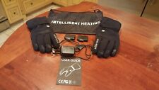 Snow Deer Rechargeable Battery Heated Warming Gloves, W/Bag, XXL/11
