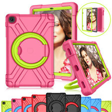 For iPad 10.2 iPad 9.7 Air 2 Hard Case Kids Safe Rubber Stand Protective Cover