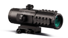 Konus SightPro PTS2 3x30 Prism Tactical Rifle Scope Etched Ballistic IR Reticle