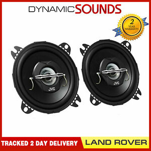 """JVC 4"""" Coaxial Front or Rear Speakers Upgrade Kit for Landrover Defender 90/110"""