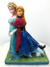 Disney Showcase Music Box Frozen Elsa Anna Jim Shore Sisters Forever Hallmark