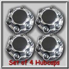 Set of 4 Chrome Chevy Chevrolet 2000-2015 Suburban 6 Lug Center Caps Hubcap