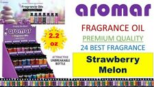 Aromar Aromatherapy Essential Fragrance 100% Concentrated Oil STRAWBERRY MELON