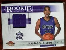 Hassan Whiteside Panini Threads Rookie Jersey Card serial numbered 133/399