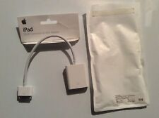 NEW SEALED Apple iPad Dock Connector to VGA Adapter - A1368 MC552ZM/A - NISB