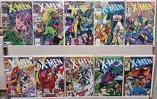 The Uncanny X-Men #263, 269, 272, 273, 280, 281, 284, 285, 286, 287 - CGC READY