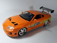 Jada 1995 Toyota Supra Fast And The Furious Movie Model Brian's Car 1:24 Diecast