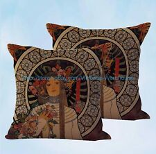 US Seller-set of 2 Alphonse Trappistine cushion cover decorative pillow cover