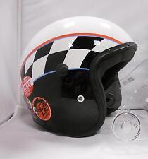 Helmet casco Caberg Freeride WIZ casco jet vintage omologato visiera
