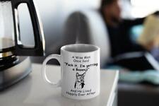 Basenji Mug - Basenji Gift - A Wise Man Once Said Mug - Novelty Gift For Dog Dad