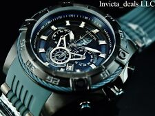 Invicta Marvel 52mm Bolt Viper Limited Ed BLACK PANTHER Chrono Black Dial Watch