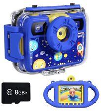 Ourlife Kids Camera, Selfie Waterproof Action Child Gift Cameras