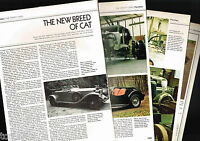 Old PANTHER Cars (UK) Article / Photos / Pictures: J72,RIO,J-72