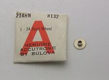 Hard to Find NOS Bulova Accutron 214 Astronaut 24 HOUR Wheel 214HN Part #132