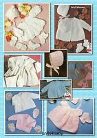 150+ Vintage BABY KNITTING & CROCHET PATTERNS ~ Popular