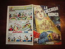ALBI DELL'INTREPIDO N°457 DEL 19-10-1954 LA COCCARDA BIANCA