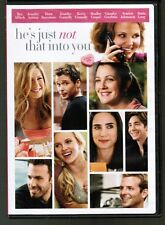 """He's Just Not That Into You"" DVD (full + widescreen) Ginnifer Goodwin,Aniston,+"