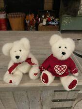 Boyds Bears Valerie B. Bearhugs Valentine's #510301 &Bashful T. Bearhugs 82004