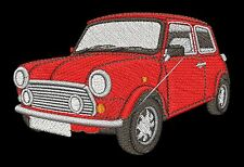 Classic Mini Cooper Embroidered & Personalised T Shirt