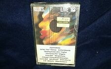 BLUES LIVE '82, AMERICAN FOLK BLUES FESTIVAL, CASSETTE *NEW*, GERMAN RELEASE