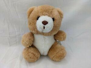 """Russ Good Wish Bear Plush Tan 5"""" Stuffed Animal Toy"""