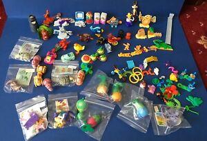 Job Lot Vintage 1990's Kinder Egg Surprise Toys, 30+, Mostly Complete-1