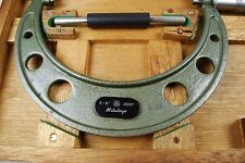 "Mitutoyo Mechanical  Micrometer 5-6"" Range with 0.0001"" Graduation"