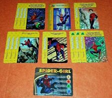 OVERPOWER Spider-Girl PLAYER SET hero X-Men 11 sp 1 Marvels Mayday Wall Walker