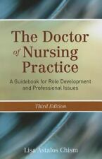 The Doctor of Nursing Practice: A Guidebook for Role Development and Professi…