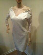 Lace sleeved bodycon dress size s/m8/10 transvestite crossdresser cds 0120