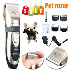 Pet Clippers Hair Trimmer Shaver Dog Cat Grooming Quiet Low noise Clipper Kit