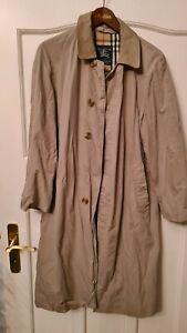 BURBERRY Mantel Trenchcoat beige Gr. 48/50 long