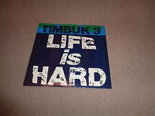 "Timbuk 3 – Life is Hard - I.R.S. 7"" Vinyl 45 - PS- 1987 - NM"