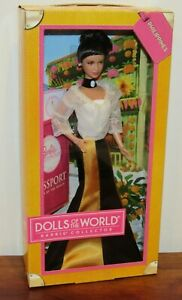 Philippines Passport DOTW Barbie Doll #X8423 NRFB 2012 Pink Label
