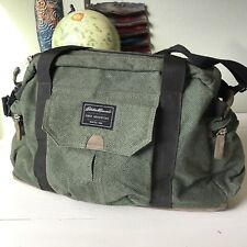 Eddie Bauer First Adventure Diaper Bag Insulated Pockets Green. New Without Tags