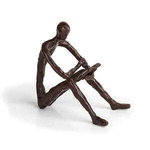 DANYA B. Danya B Leisure Reading Bronze Sculpture