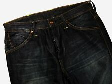 SALE! S185 WRANGLER dark denim pants trousers size 30/30, very nice cond!