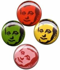 Bill Murray Fun Color! Set of 4 Pins-Buttons-Badges |chive|