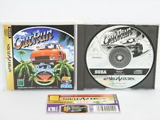 Sega Saturn OUT RUN P1C outrun with SPINE ss