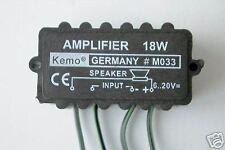 KEMO M033 18 W Verstärker amplifier