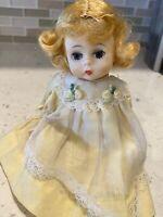"vintage madame alexander doll ""Alex"" bent knee, sleepy eyes"