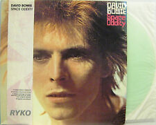 """DAVID BOWIE  """"SPACE ODDITY""""  lp  USA RYKO limited edition 3 sides clear vinyl"""